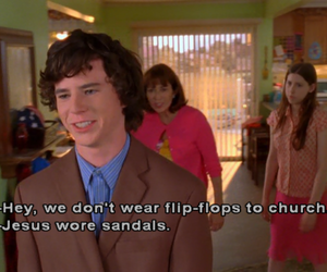 the middle, funny, and quote image