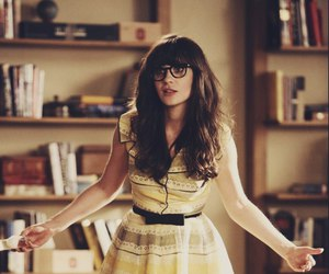 new girl, zooey deschanel, and jess image