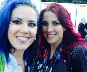 arch enemy, charlotte wessels, and alissa white-gluz image