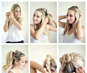 accesories, do it yourself, and blonde image