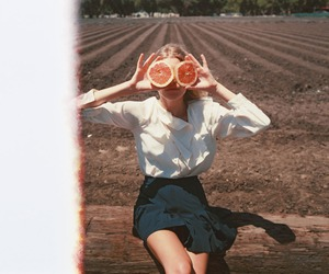 girl, vintage, and photography image