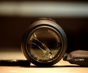 accident, lens, and broken heart image
