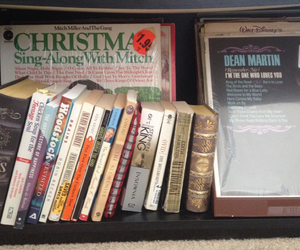 books, chicken soup, and christmas image