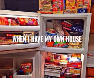 food, house, and fridge image