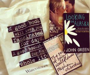 book, john green, and looking for alaska image