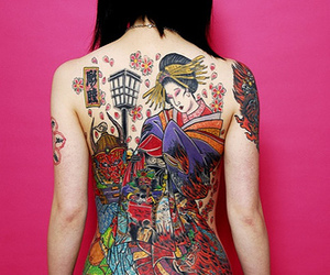 tattoo and japanese image