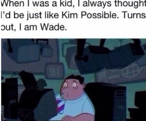 funny, kim possible, and wade image