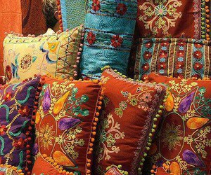 pillows and pretty image
