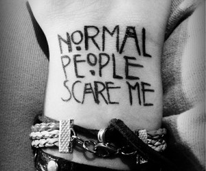 tattoo, people, and normal image
