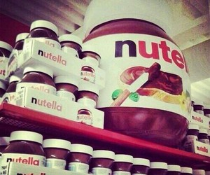 delicious, sweet, and nutella image