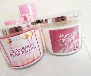 candle, pink, and slatkin & co image