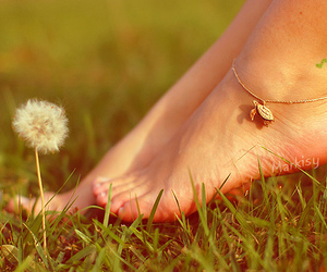 feet and grass image