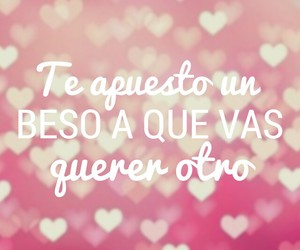 beso, espanol, and frases image
