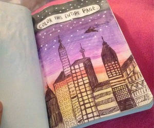 wreck this journal, art, and stars image