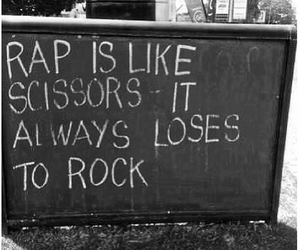 rock, quote, and rap image
