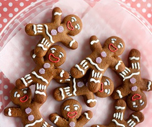 christmas, delicious, and cookie image