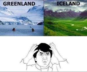 confusing, iceland, and funny image