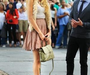 gossip girl, fashion, and Serena Van Der Woodsen image