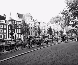 amsterdam, architecture, and b&w image