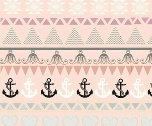 anchor, wallpaper, and aztec image