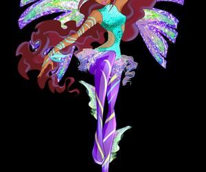 Layla, winx, and sirenix image