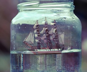 water, ship, and boat image
