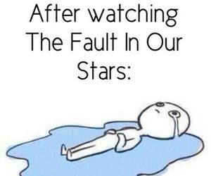 the fault in our stars, tfios, and cry image