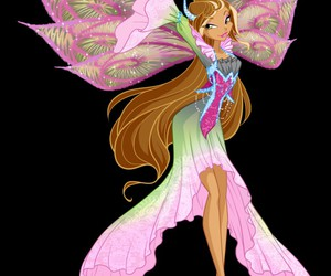 flora, winx, and tiefix image
