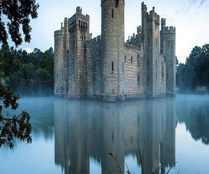 castle and water image