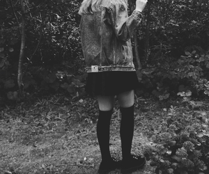 black, bnw, and creepers image
