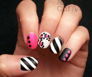 black, girls, and nails image