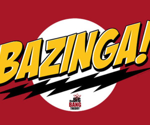 bazinga, the big bang theory, and sheldon image
