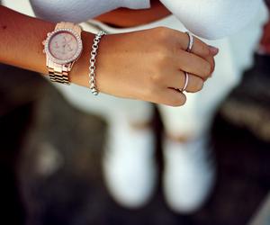 watch, fashion, and girl image