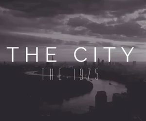 the city, the 1975, and matty healy image