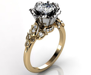 ring, vintage jewelry, and promise ring image
