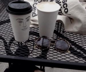 coffee, grunge, and black image
