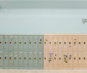 aesthetic, locker, and school image
