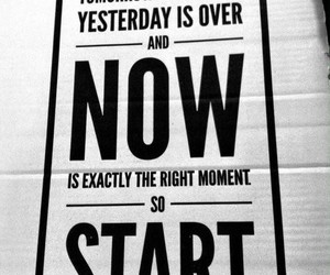now, start, and life image
