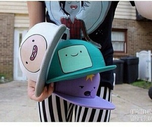 finn, adventure time, and beemo image