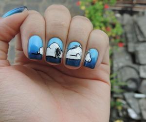 nails art, funny, and nails image