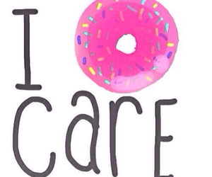 donuts, overlay, and care image