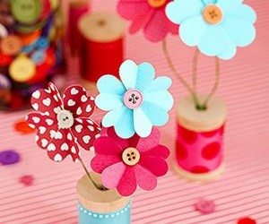 craft and flowers image