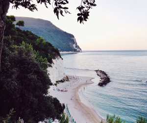 beach, place, and italy image