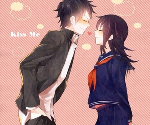 anime, couple, and cute image