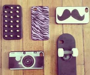 fashion, mostacho, and iphone image