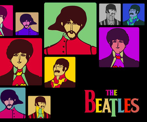 beatles, cool, and the beatle image