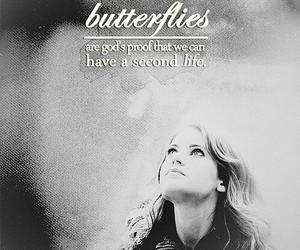 butterfly, quotes, and god image