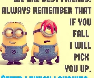 minions and best friends image