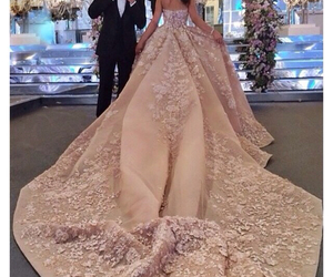 dress, elie saab, and mariage image