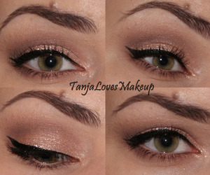 eyeliner, eotd, and eyes image